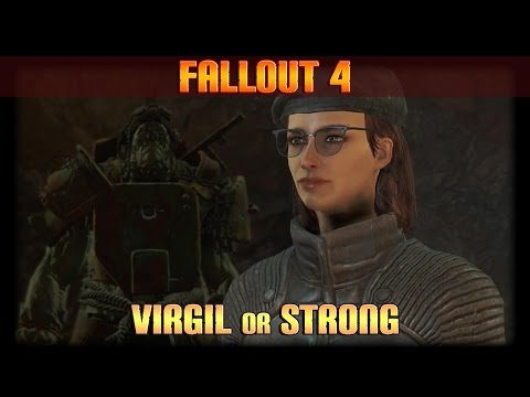 Fallout 4: Virgil vs Strong - Supermutant Cure [Good & Bad]