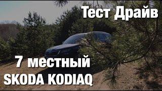 Тест-Драйв Skoda Kodiaq 7 местный - Нужен ли?