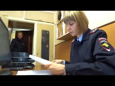 Подполковник полиции Марина Олексюк