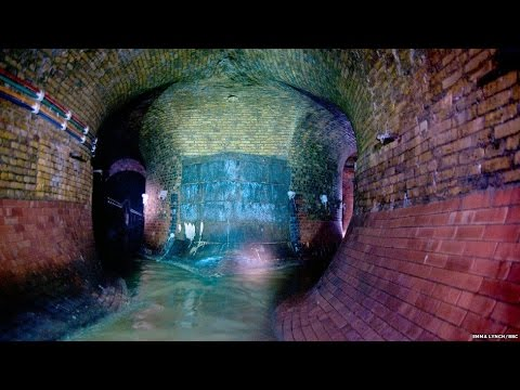 The lost rivers that lie beneath London