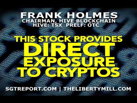 THIS STOCK PROVIDES DIRECT EXPOSURE TO CRYPTOS
