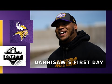Meet The Pick: Behind-the-Scenes of Christian Darrisaw's First Day as a Minnesota Viking