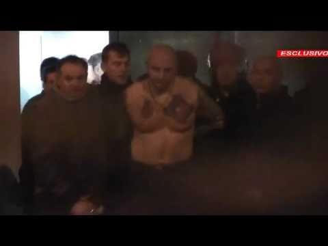 Esclusivo: l'arresto di Ivan Bogdanov (Scontri Italia-Serbia)