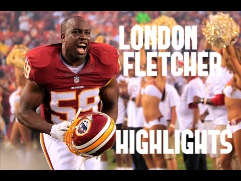London Fletcher Highlights ᴴᴰ || Washington Redskins
