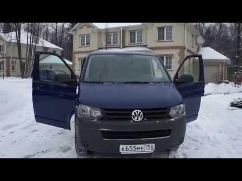 Volkswagen Transporter V Фургон, 2010 г.в., 2.0 TD 102 л.с., мкпп