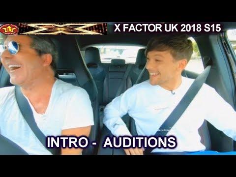INTRO Simon & Louis Tomlinson at a Fastfood Drive Thru AUDITIONS week 1 (Round 2)X Factor UK 2018