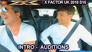 intro simon louis tomlinson at a fastfood drive thru auditions week 1 round 2 x factor uk 2018