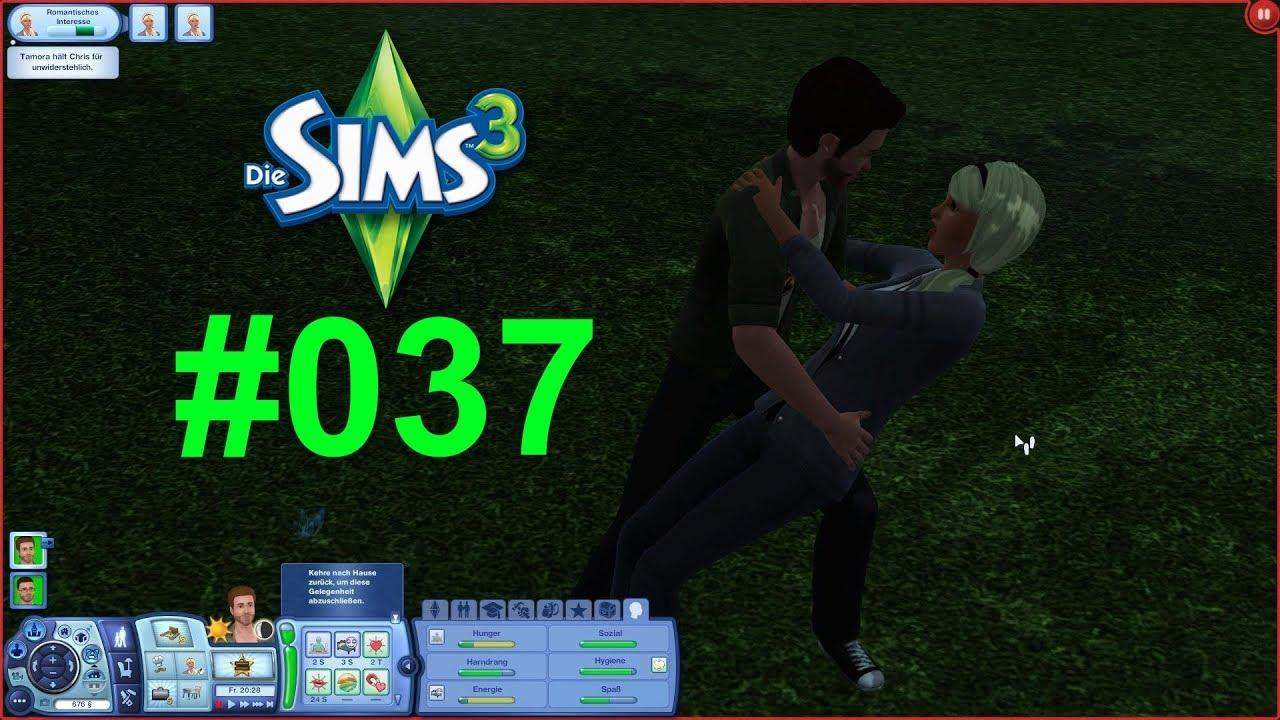 Sims 3 037 Der Erste Kuss Für Chris Lets Play Die Sims 3 Youtube