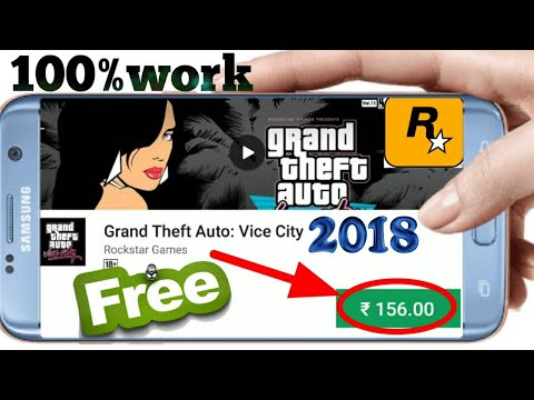 HOW TO DOWNLOAD AND INSTALL GTA VICE CITY APK+OBB+DATA DOWNLOAD FOR ANDROID 2018