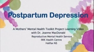 Postpartum depression is a mood disorder that can affect women shortly before or soon after childbir.