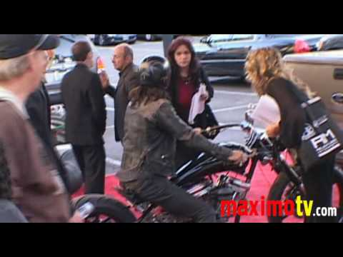 LORENZO LAMAS & His BIKE at The 2009 Hollywood Christmas Parade