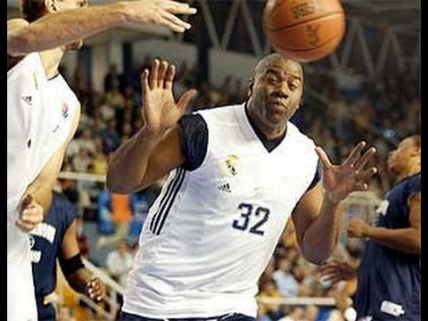 Real Madrid - Magic Johnson All Stars (6.1.2002)