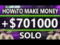 GTA 5 - How to earn Money *Solo* GTA 5 Money methods (EASY)
