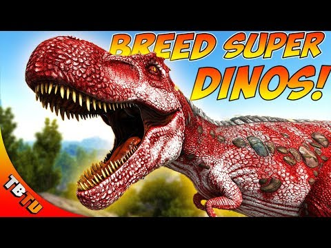 HOW TO BREED SUPER DINOS! ARK STAT MUTATIONS EXPLAINED! Ark: Survival Evolved Breeding Tutorial