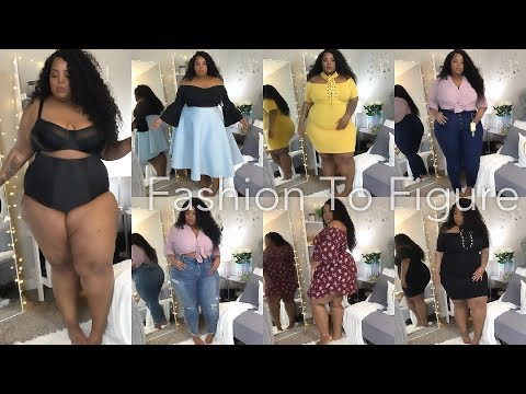 Come Through Fashion To Figure!!! | Plus Size Try-On Haul | Shapewear, Dresses, Jeans, etc!