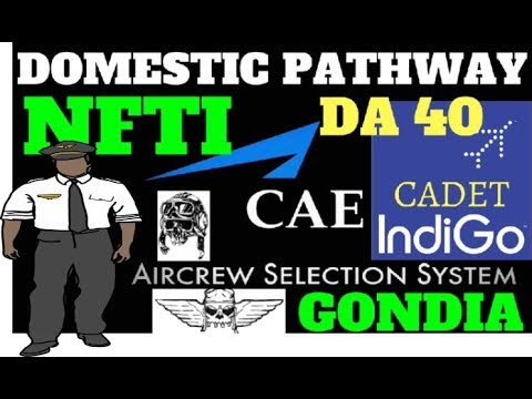 NATIONAL FLYING TRAINING INSTITUTE NFTI GONDIA | CAE INDIGO CADET PILOT PROGRAM | DOMESTIC PATHWAY |