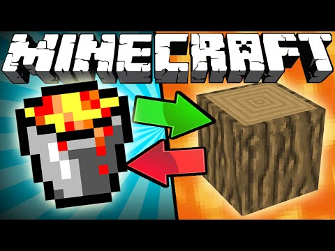 Thumbnail: If Lava and Wood Switched Places - Minecraft