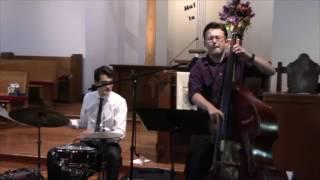 Matthew J. Evans performing What a Wonderful World
