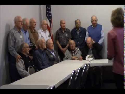 WW II American Merchant Marine Veterans, May 12, 2014 Richfield, MN