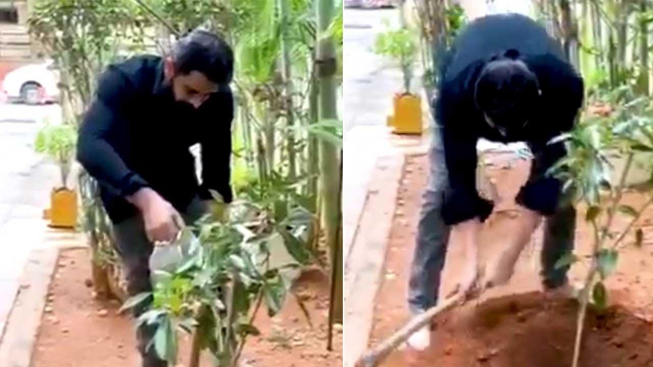 Actor Naga Shourya Accepts Green India Challenge | MS Entertainments