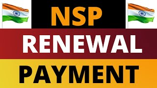 NSP Renewal Scholarship Payment Credited Today 2019-20 || NSP Renewal Payment Status 2020 ||
