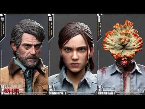 PREVIEW The Last Of US Part 2 ELLIE E JOEL CC Toys / DiegoHDM