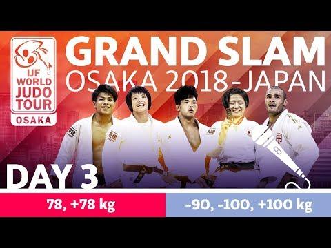 Judo Grand-Slam Osaka 2018: Day 3