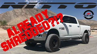 Nitto Ridge Grapplers SHREDDED After 4,000 Miles - Jay Flat Out