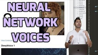 Neural Network Voices
