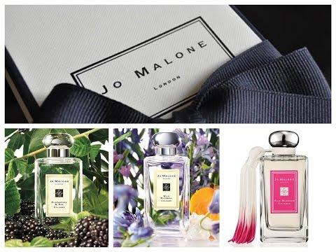 JO MALONE/МОИ ПАРФЮМЫ/BLACKBERRY&BAY/WILD BLUEBELL/SILK BLOSSOM