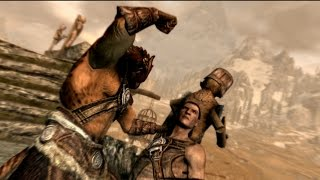 Skyrim Remastered: OP Unarmed Build in Less Than 5 Minutes!!