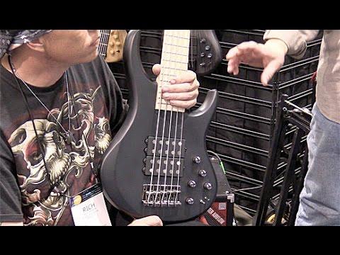 NAMM '16 - MTD Guitars Kingston Super 5 Demo