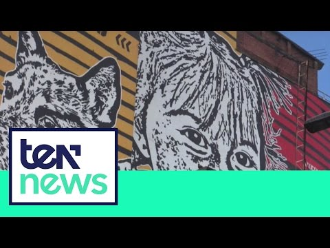 Bogotá, la capital del grafiti - TEN News   20 de agosto 2016
