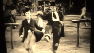 laurel and hardy dancing clockstones version of Johnny Burnettes dreaming
