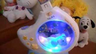"""Обзор: Музыкальная игрушка """"Детский ночник"""", арт. 7527"""