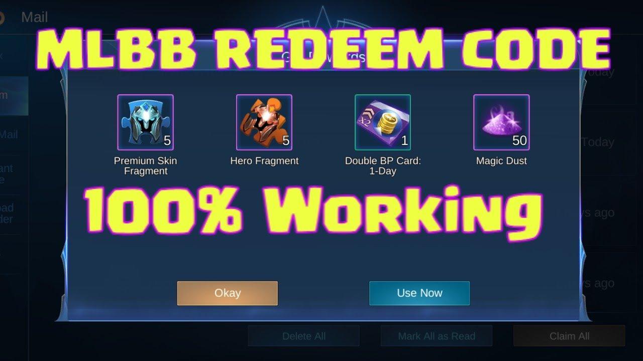 MOBILE LEGENDS BANG BANG (MLBB) | REDEEM CODE December ...