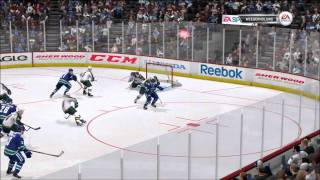 NHL 12: Gameplay Canucks vs. Wild | XBOX 360 HD (FULL GAME)