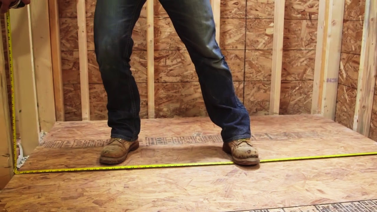 How to Install HardieBacker Cement Board - FFX - YouTube