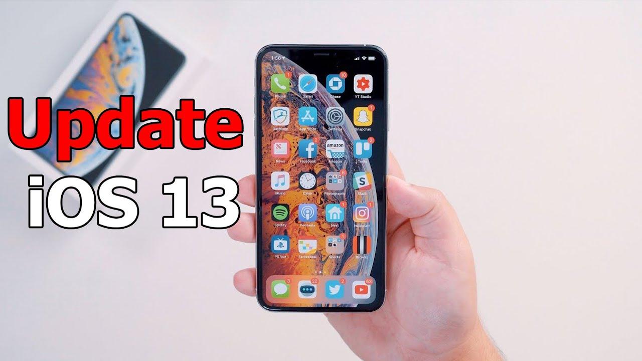 Làm ngay 3 việc này trước khi cập nhật iOS 13