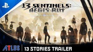 13 Sentinels: Aegis Rim - 13 Stories Trailer   PS4