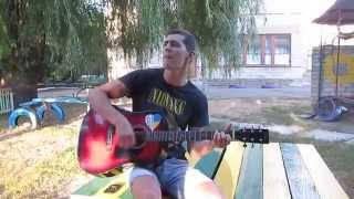 Дворовые песни   Детство золотое на гитаре