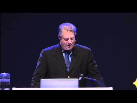 Al Gore first five minutes at Nordic Business Forum 2011