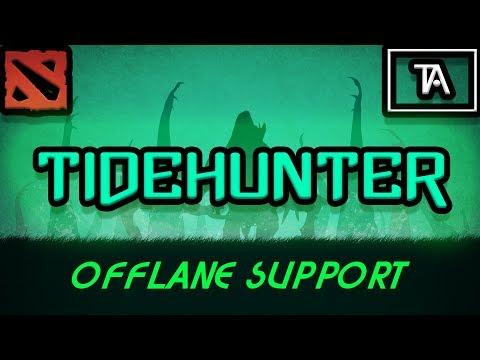 DOTA 2: Tony plays a fun Tidehunter (Offlane Support) (Ranked)