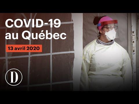 Coronavirus: le point sur la pandémie de COVID-19 au Québec | Lundi 13 avril