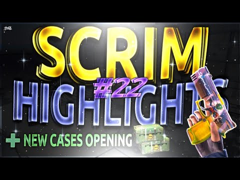 #22 Scrim Highlights + new cases opening. New knife ?? | Critical Ops