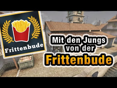 Match mit der Frittenbude - CS:GO Wettkampf Gameplay Inferno [German]