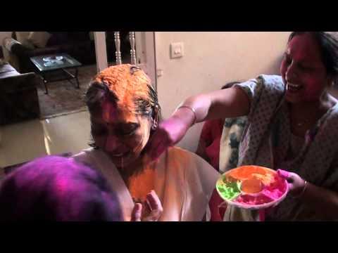 Holi Celebration in INDIA. (Festival of Colours) Part-2