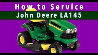 John Deere LA145: How To Service - (Link to Kit in Description)