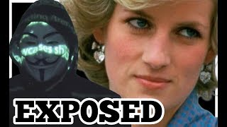 ANONYMOUS EXP0SES WHAT REALLY HAPPENED TO DIANA