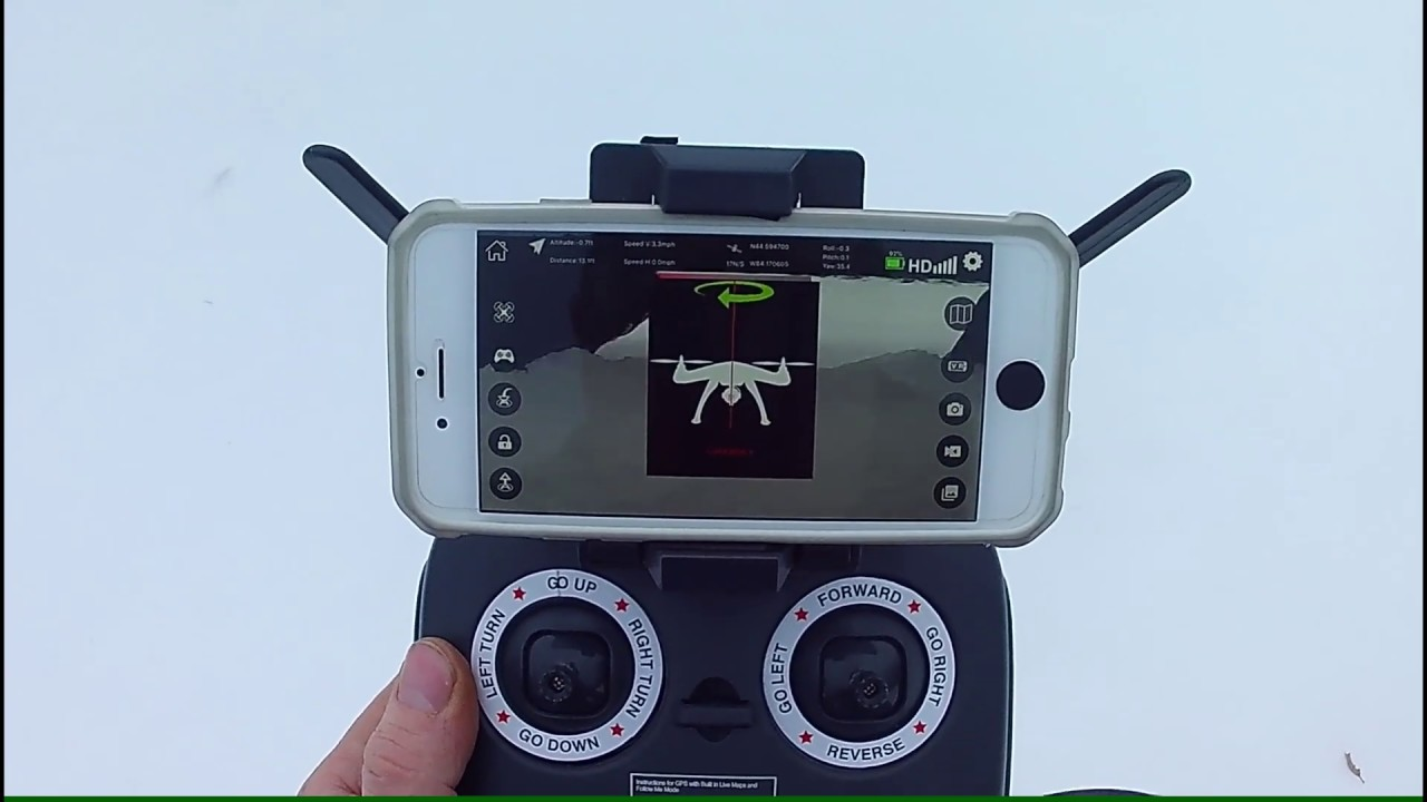 How to get video to record on a Vivitar DRC-446 Drone